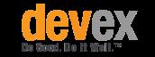 A logo from Devex online